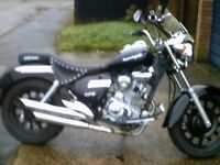 stolenrecovered, hardly used, very clean, full working order. 2 keys black & crome