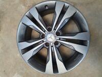 """Mercedes CLA 18"""" alloy wheel x 2"""