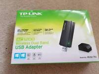 Wireless interent - TP-LINK AC1200 wireless dual band usb adapter
