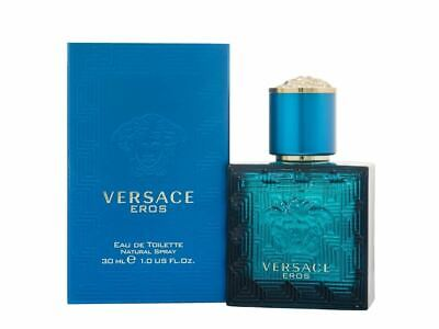 Versace Eros Eau de Toilette 30ml Spray Men's - NEW. EDT - For Him