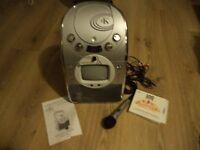 portable cd/ karaoke machine