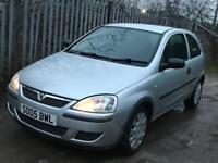 Vauxhall Corsa 1.0 Economy 2005, £60 Tax/Year, Like VW Polo, Fiesta, Micra