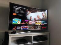 Samsung 55 inch Curved TV 4K UHD