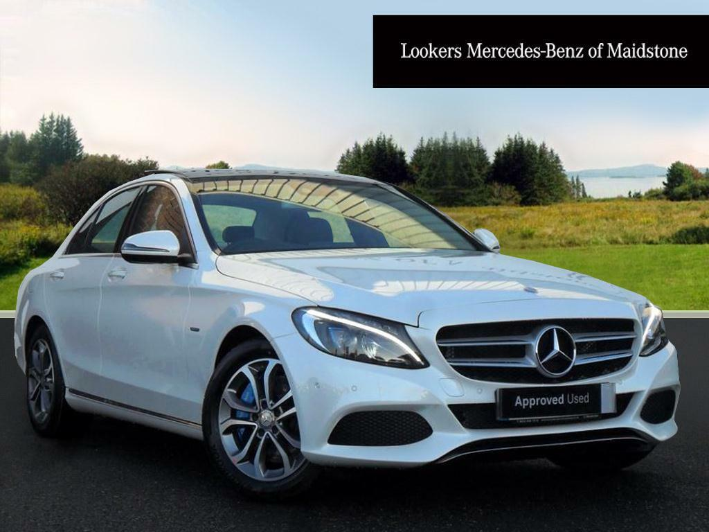 Mercedes benz c class c350 e sport premium plus white for Mercedes benz c class white