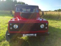 1996 Land Rover Defender 110 300 TDI Tipper Truck