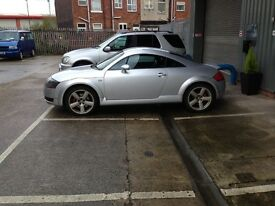 Audi tt 225 6 speed manual with private plate