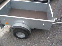 Car trailer bronnis 5.5 ftx3.6ft
