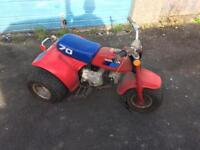 Barn find Honda atc 70 1985 original