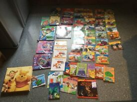 XL SELECTION OF YOUNG CHILDS BOOKS. 31 THOMAS & FRIENDS books & 26 mixed books. ALL IMMACULATE.