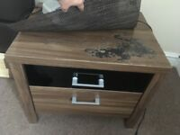 2 Bedside drawers