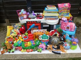 *MASSIVE MIXED LOT PRE SCHOOL / YOUNG CHILD TOYS GAMES BOOKS ETC* £60
