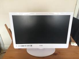 """Logik 21"""" TV with Built in DVD player"""