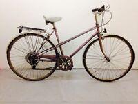 Raleigh Ladies City/Road bike... 10 speed, Highly responsive breaks.. Serviced
