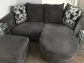 Stunning three piece dfs sofa set