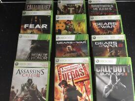 Joblot Xbox 360 games