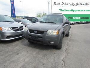 2002 Ford Escape XLT * FRESH TRADE * AS IS