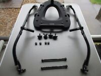 Honda VFR800 vtec 02-09 Givi luggage racks and Kappa top box.