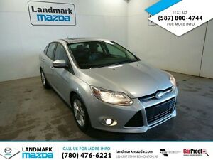 2012 Ford Focus SE SEDAN / LEATHER / MOONROOF / KIJIJI SPECIAL!