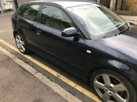 05 AUDI A3 2.0 TDI MANUAL 6 SPEED 2 DOOR THIS CARS FOR PARTS FOR ANY PARTS CALL ON