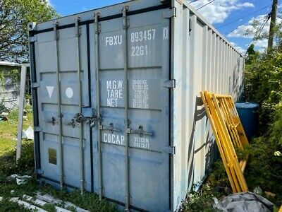 20ft Used Standard Shipping Container For Sale Asap. Must Pickup.