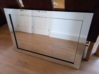 Large Mirror with Bevelled Edges from TASKERS