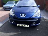 2006 56 plate Peugeot 207 **very low mileage**