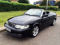 Saab 9-3 2.0 T SE CONVERTIBLE, MOT March 2017, in very good condition + Private number plate!