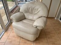 2 seater Settee and Reclining Chair