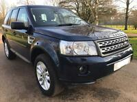 Landrover Freelander 2 HSE 2.2 70k miles Pan roof and Nav px