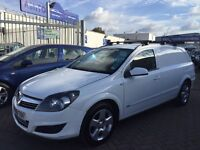 2008 08 VAUXHALL ASTRA CREW-VAN 5 SEATER FROM FACTORY CONVERTED AMAZING SERVICE HISTORY FROM NEW