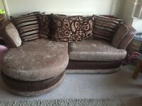 Left or right handed corner sofa