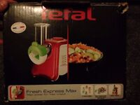 Tefal Fresh Express Max 260W Electric Grater Shredder Chopper Kitchen Appliance -Excellent Condition
