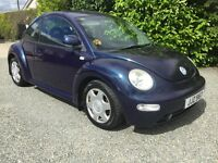 Vw beetle 2.0 great driver no faults mot 21/9/17 four new tyres cookstown