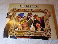 Photo Booth Props BNIB