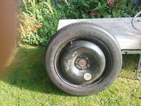Nissan quashqai spare wheel