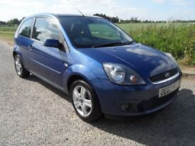 FORD FIESTA 1.25 3DR SERVICE FILE. LONG MOT. LOW INSURANCE CLEAN CAR