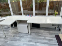 Office set - Tables and Printer unit