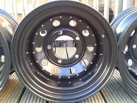 Land rover Defender Discovery 1 Range Rover modular steel wheel