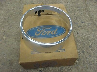 NOS 1970 70 Ford RH Outer Headlight Door Bezel Ring Galaxie D0AZ-13064-A