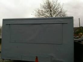 Burger van trailer conversion