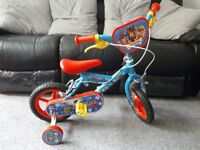 Paw petrol toddler bike
