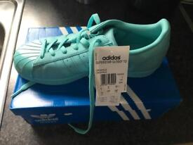 Female adidas trainers