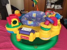 Graco Activity Centre / Entertainment Station & Bouncer Baby Toy