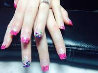 Gel !!! Acrylic nails !!! Pedicure !!! Waxing !!!