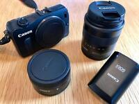 CANON EOS M KIT IN VGC