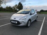 Ford KA 1.2 Zetec 3dr - Start Stop - VERY LOW INSURANCE