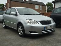 2003 TOYOTA COROLLA 1.6 T.SPIRIT (AUTOMATIC) 5 DR, 89,000 MILES, HPI CLEAR, 2 KEYS