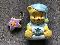 Fisher Price Winnie the Pooh Starlight Projector with remote control