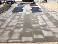 Concrete Paving Slabs - 400mm x 400mm x 63mm thick