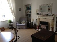 Bright two bedroom flat for rent just off Leith Walk, Edinburgh.